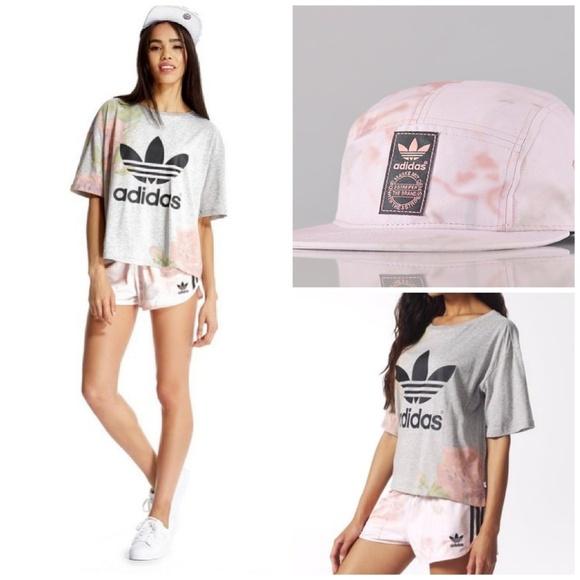 adidas pastel rose set